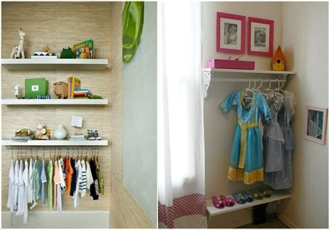 cute  clever diy kids closet ideas
