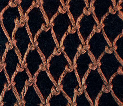 Macrame Net - free macrame patterns