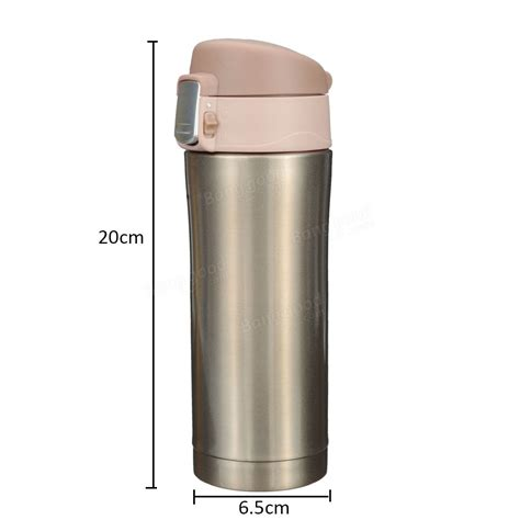 Animal Stainless Vacuum Flask Thermos Size 350ml 350ml stainless steel thermos travel mug vacuum flask