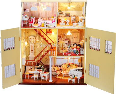 buy doll houses wooden doll house handmade www imgkid com the image kid has it