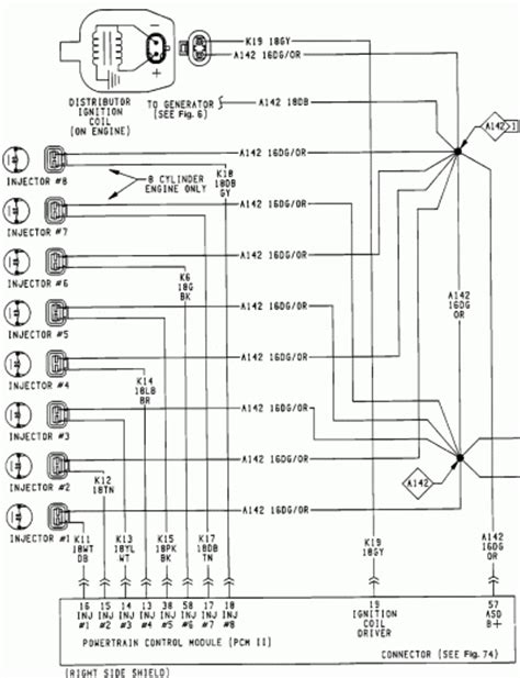 dodge dakota wiring diagram efcaviation