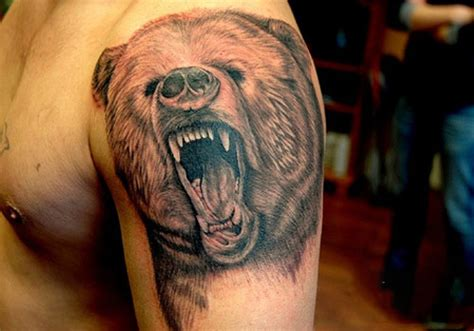 grizzly bear tattoos grizzly tattoos designs ideas and meaning tattoos