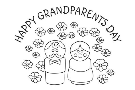 grandparents card template free grandparents day cards