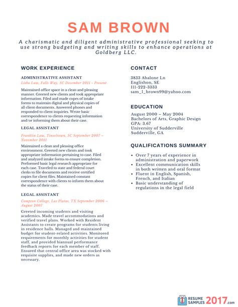 Resume Template 2017 Chronological Finest Chronological Resume Sles On The Web Resume Sles 2017