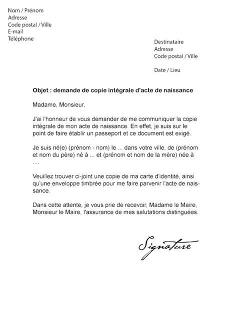 Exemple De Lettre Pour Kev Modele Lettre Pour Une Naissance Document