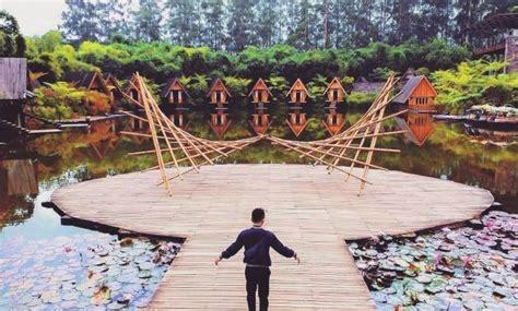 foto dusun bambu lembang agustus  harga tiket masuk