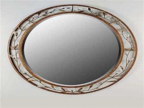 decorative bathroom mirrors frameless beveled mirrors