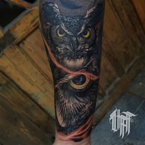 owl tattoo sleeve 4 amazing owl tattoos by pxa
