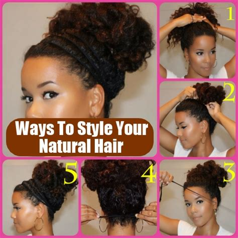 how to wesr thin wiry hair natural 29 awesome new ways to style your natural hair diy home