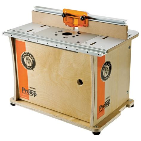 bench routers bench dog 174 protop contractor portable router table 40 001