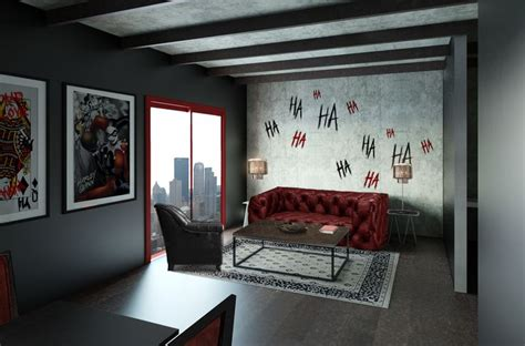 harley quinn room decor living room harley quinn theme get your room designed inspired by your favorite character