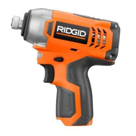 ridgid 12 volt impact driver tool only r82238n the