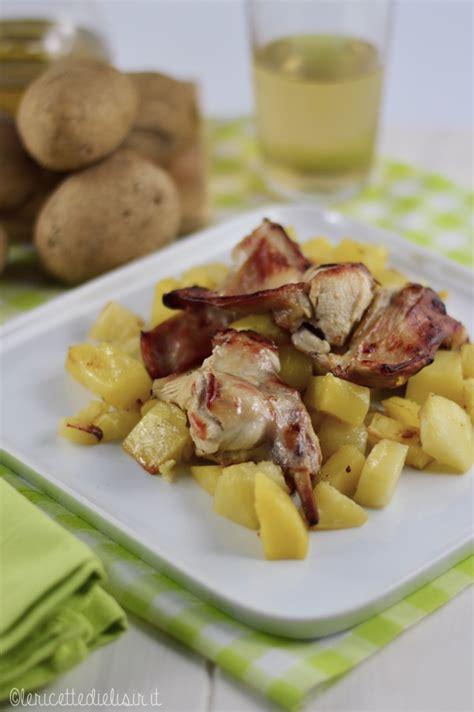 cucinare il coniglio al forno coniglio al forno con patate le ricette di elisir