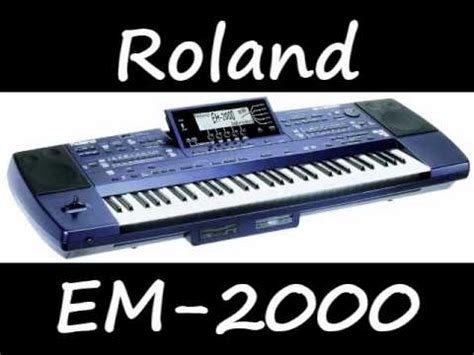 Keyboard Roland Em 2000 roland em 2000
