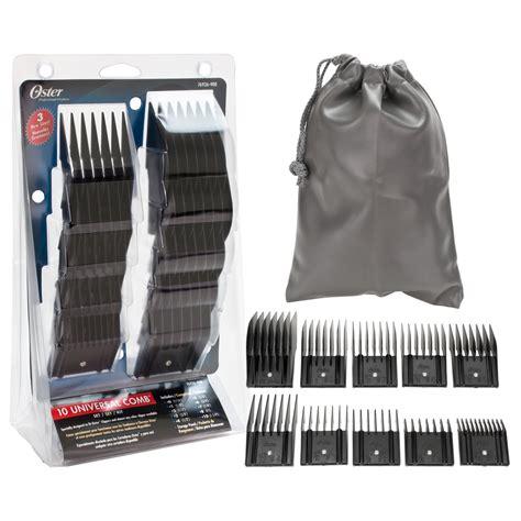 10 clipper guard hair oster 10 piece universal hair clipper comb guard