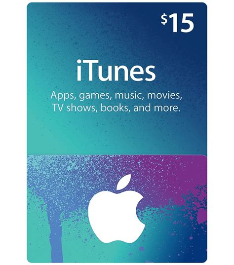 Apps For Itunes Gift Cards - itunes gift card 15 us email delivery mygiftcardsupply