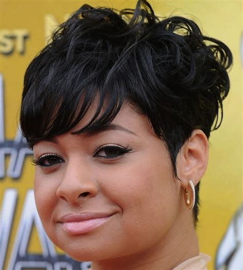 short african american haircuts for a full face short hairstyles for black women sexy natural haircuts