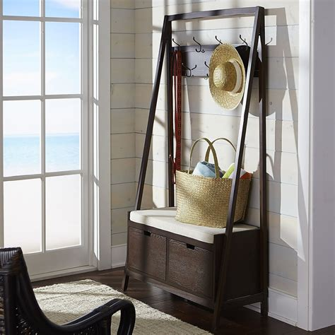 hall tree and bench 8 welcoming entryway benches that maximize storage space