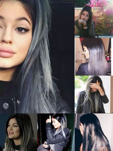 bruce jenner hombre hair kylie jenner with grey hair kylie jenner pinterest