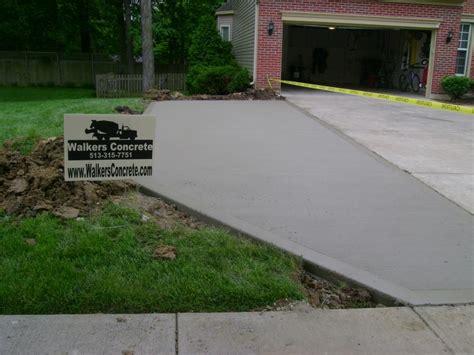 walkers concrete llc concrete driveways patios sidewalks