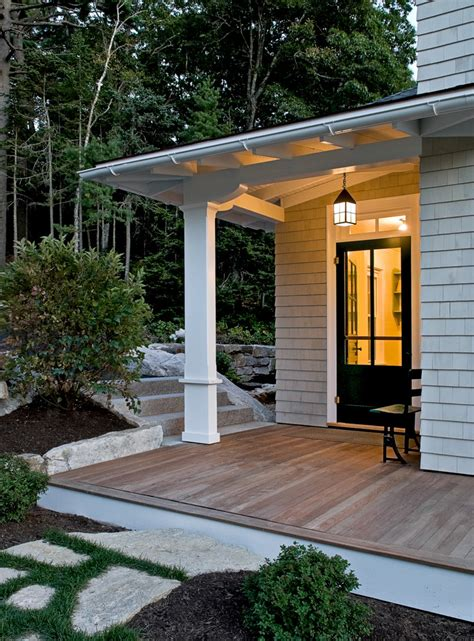 Exterior Porch Doors Sublime Cottage Decorating Ideas Gallery In Exterior