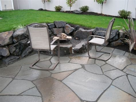 Table Greenhaven by Fascinating Vancouver Firepit Design Firepit Installation