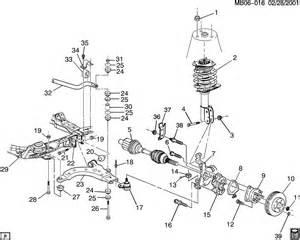 Buick Rendezvous Parts Diagram Front Wheel Hub Bolts