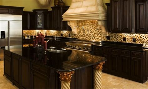 Black Cabinets With Granite Countertops by Black Granite Countertops With Cabinets