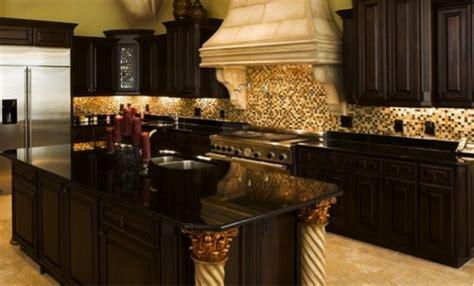 Black Cabinets With Black Granite Countertops by Black Granite Countertops With Cabinets