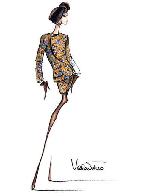 fashion illustration valentino 20 best images about valentino sketches on