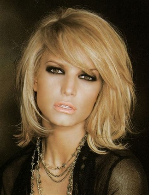 jessica simpson hairstyles with bangs jessica simpson haircut