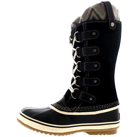 womens waterproof winter boots womens sorel joan of arctic knit ii warm snow winter