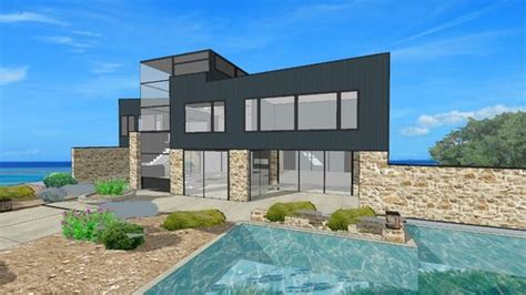 Landscape Warehouse Modern Home With Landscaping 3d Warehouse Ideas For