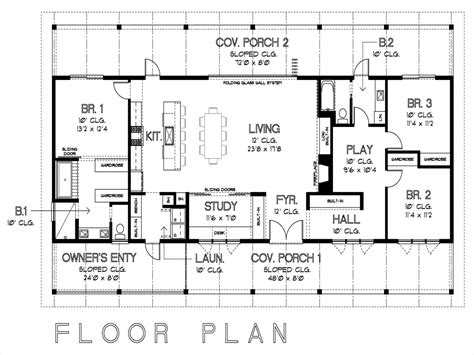 Floor Plans With Measurements | simple floor plans with measurements on floor with house