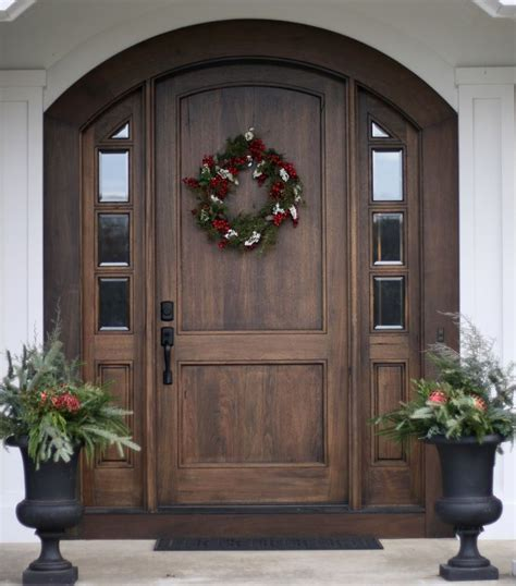 25 best ideas about wood front doors on front