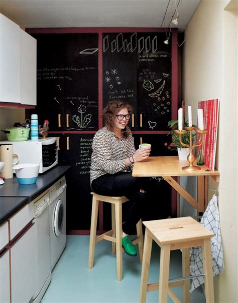Small Ikea Kitchen - yes you too can have an eat in kitchen ikea s wall mounted drop leaf tables kitchn
