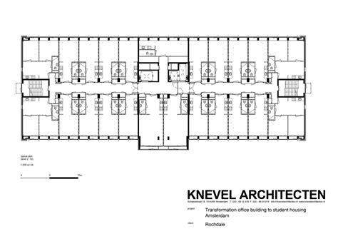 e plan gallery of student housing in elsevier office building