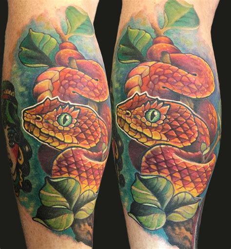 viper tattoo viper by matt stebly tattoonow