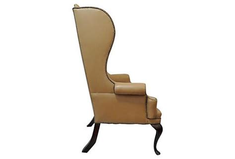 Wing Back by Barrymore Furniture High Back Tufted Wing Chair