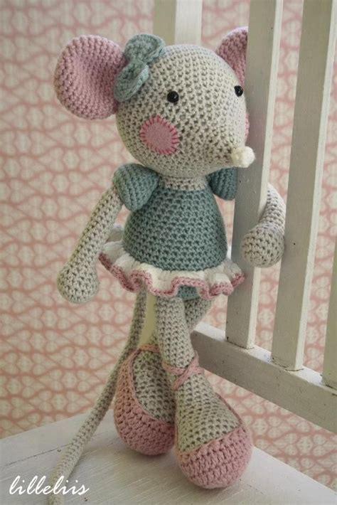 angelina ballerina style crochet amigurumi pinterest