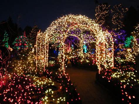 Vandusen Botanical Garden Lights Festival Of Lights 123dentist