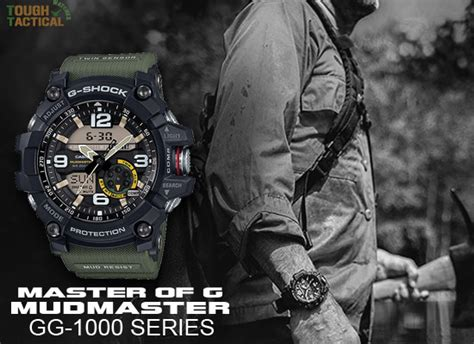 G Shock Gg1000 Autolight the new g shock gg 1000 mudmaster powered up with