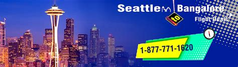 book best airfare flight deal from seattle to bangalore