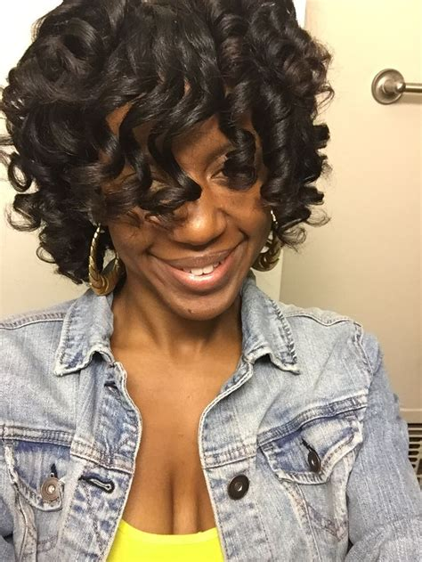 african american perm rod hairstyles for black perm rod set on natural hair african american natural