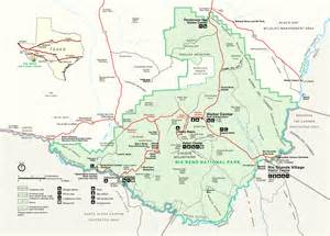 map of big bend big bend maps npmaps just free maps period
