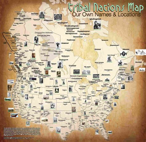 american natives map the map of american tribes you ve never seen before