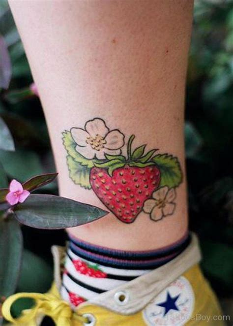 strawberry tattoo designs strawberry tattoos designs pictures
