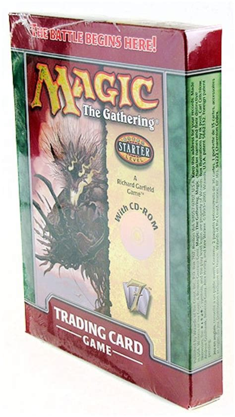 magic starter decks magic the gathering 7th edition 2 player starter deck with