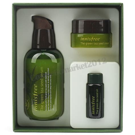 innisfree green tea seed serum special set 80ml seed 6ml seed 10ml ebay