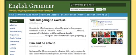 best exercise websites 10 websites to learn and practice grammar